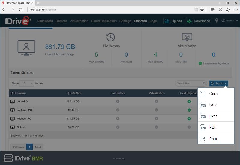 storage insights file formats