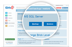 Respaldo de MS SQL Server