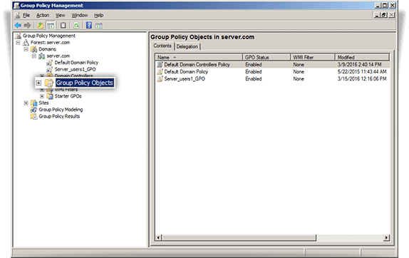 Deploy IDrive Using Group Policy