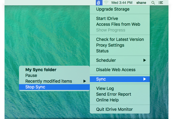 FAQs on online backup or restore via IDrive® Mac application