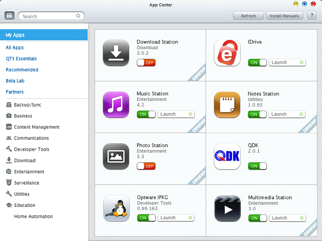 QNAP backup to IDrive® cloud