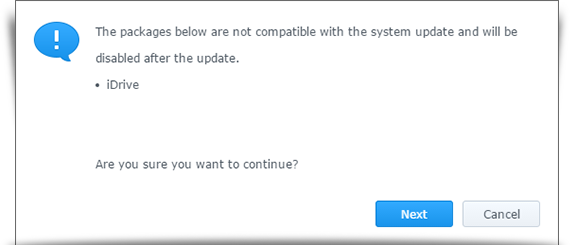 synology version