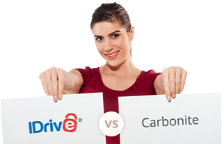 IDrive Vs Carbonite