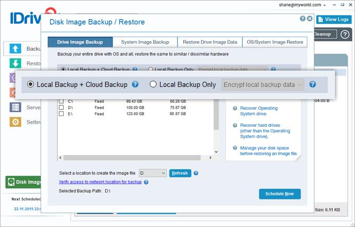 Faqs On Disk Image Backup Idrive