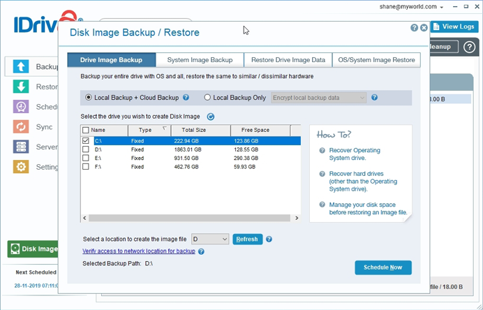 Acronis True Image Home Backing Up To Nas Knowledge Base
