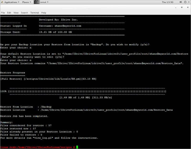 restoreScript