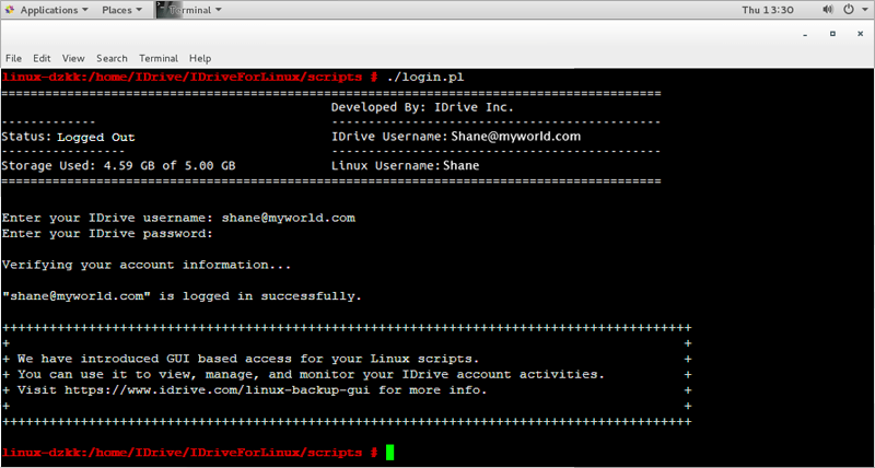 Backup and restore Linux servers using Scripts
