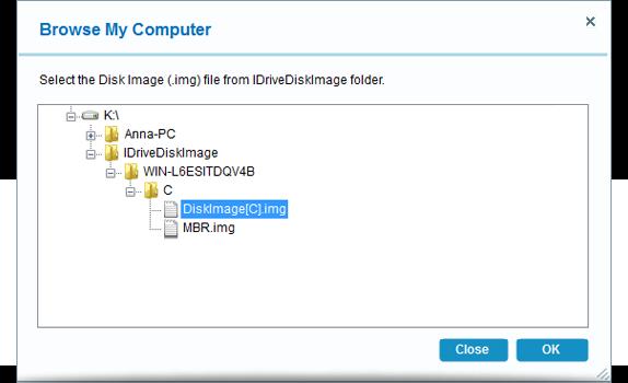 FAQs on Disk Image Backup – IDrive®