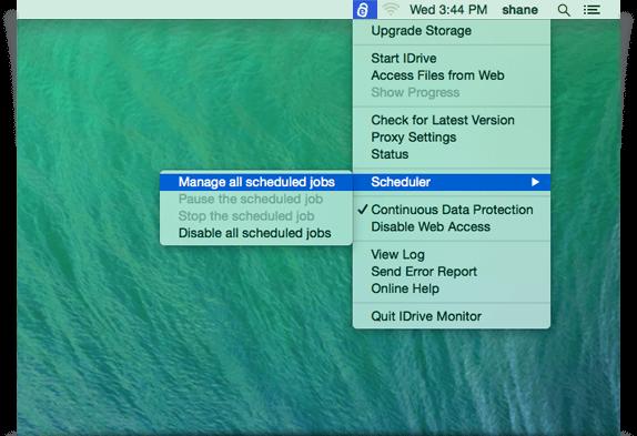 IDrive for Mac