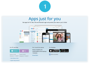 Install the IDrive app on your Mac